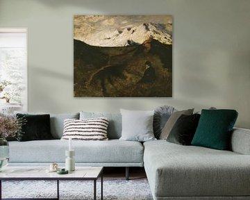 Eilif Peterssen~Bergen bei Innsbruck