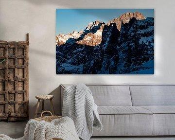 Harte Schatten in den Dolomiten von Hidde Hageman