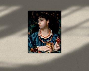 Frederick Sandys~Ysoude mit dem Love Philtre
