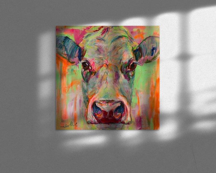 Beispiel: Kuh-Portrait XII von Liesbeth Serlie