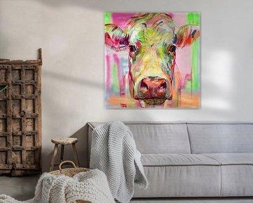 Kuh-Porträt XIII von Liesbeth Serlie