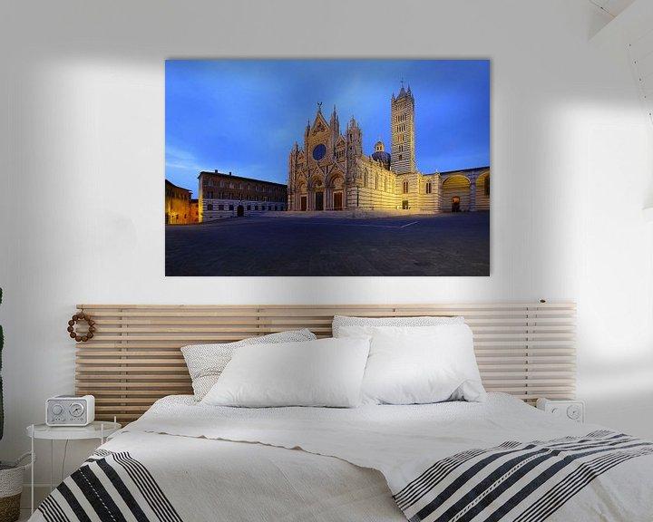 Beispiel: Dom von Siena von Patrick Lohmüller