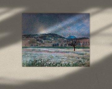 Iu Pascual-Rosen~ Mondschein-Nacht in La Garrotxa