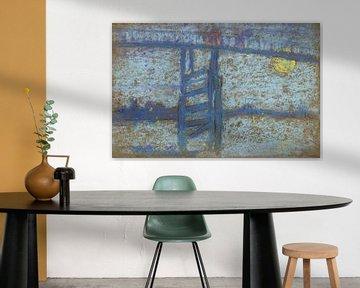 James Abbott McNeill Whistler~Brug Nocturne Battersea