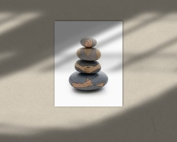 Zen-Yoga-Frau von Peter Hermus