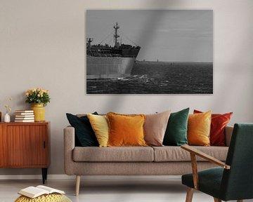 Schiff zur offenen See IJmuiden von scheepskijkerhavenfotografie