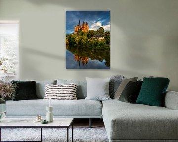 Kathedraal van Limburg an der Lahn [3] van Adelheid Smitt