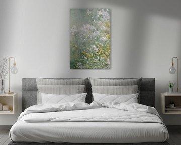 John Henry Twachtman~Wiesenblumen (Goldrute und wilde Aster)