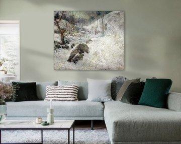 John Henry Twachtman~Horsneck Brook im Winter