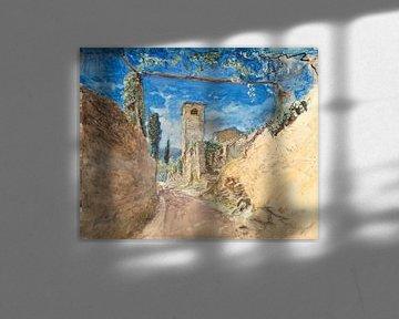 John Ruskin~Weinbergspaziergang