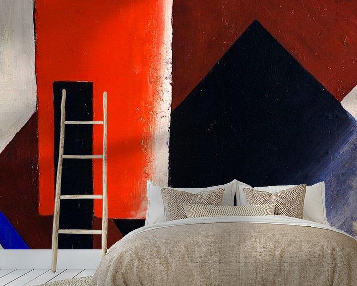 Beispiel fototapete: Ljubow Popowa~Architektonisch malerisch