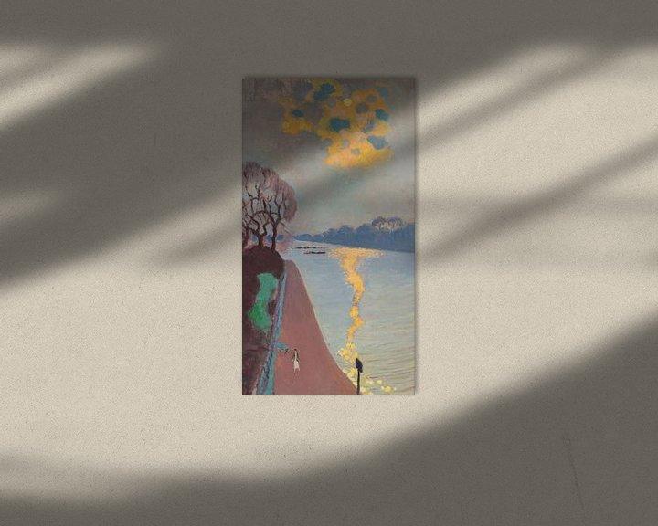 Beispiel: Maurice Denis~Sonnenlicht auf dem Fluss
