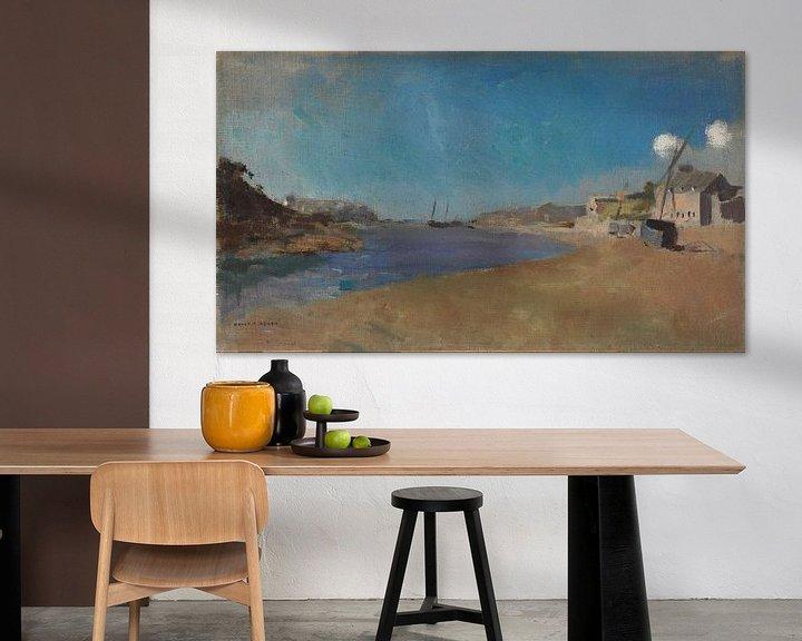 Beispiel: Odilon Redon~Wischerdorf, Bretagne