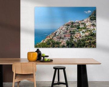Positano (Italië) van Frank Lenaerts