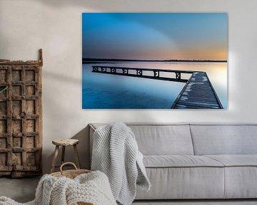 Zonsopkomst bij Veerse Meer, Vrouwenpolder, Breezand van Aspectus | Design en Realisatie