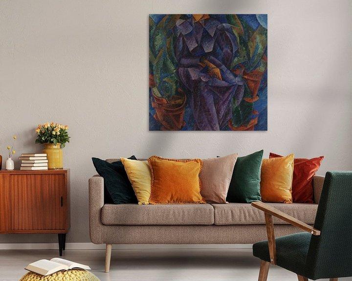 Beispiel: Umberto Boccioni Spiralbau