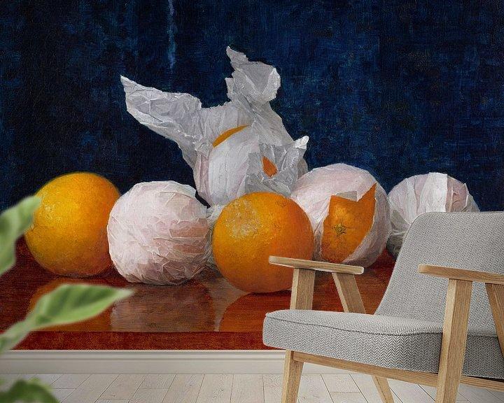 Beispiel fototapete: William J. McCloskey verpackte Orangen 378