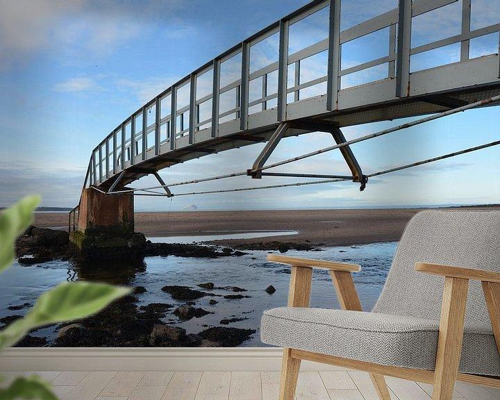 Beispiel fototapete: Brücke ins Nirgendwo von Willem Holle WHOriginal Fotografie