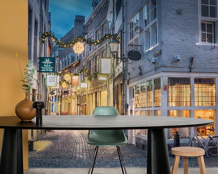 Sfeerimpressie behang: Sprookjesachtig Maastricht van Mark Bolijn