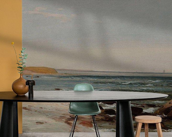 Beispiel fototapete: Winslow Homer-Maine Küste
