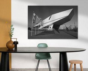 Das Eye Filmmuseum Amsterdam Nord von Willem Holle WHOriginal Fotografie