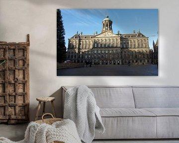 Palast auf dem Dam-Platz von Willem Holle WHOriginal Fotografie