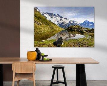 Le reflet ultime au Mt Cook - Nouvelle-Zélande sur Be More Outdoor