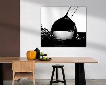 Wasser schwarz-weiß von Nynke Altenburg