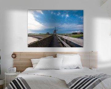 Windmolen op  Texel