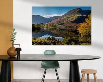 Buttermere, Lake District, Engeland van Adelheid Smitt