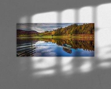 Watendlath Panorama, Lake District, Engeland van Adelheid Smitt