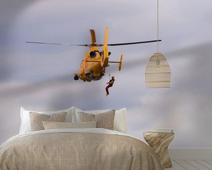 Sfeerimpressie behang: Netherlands Coastguard van Brian Morgan