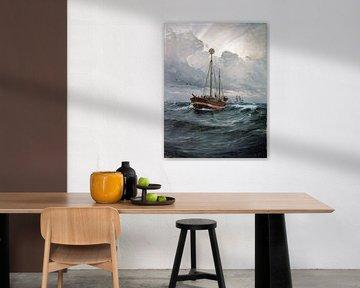 Carl Locher - das Feuerschiff am Skagen-Riff