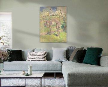 Camille Pissarro-Landschaft