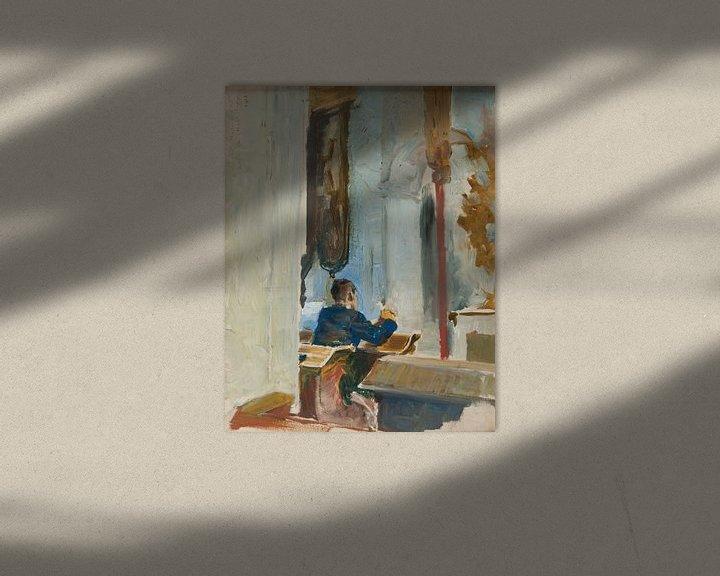 Beispiel: Jacek Malczewski-Skizze für ein Gebet
