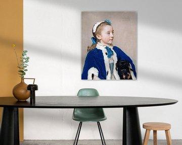 Jean-Étienne Liotard-Maria Frederike von Reede-Athlone auf Sieben