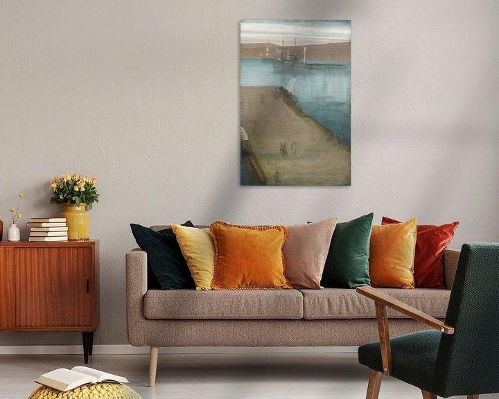 Beispiel: James Abbott McNeill Whistler Hafen Valparaiso
