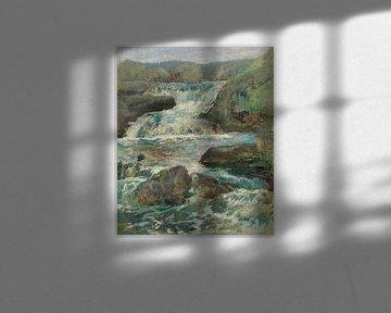 John Henry Twachtman-Pferdehals-Wasserfälle
