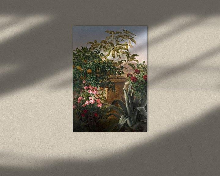 Beispiel: Johan Lauritz Jensen (1800-1856)-Florales Leben noch am Leben