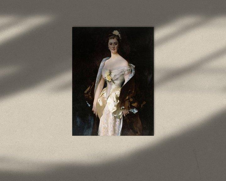 Beispiel: John Singer Sargent-Caroline von Bassano, Marquis d'Espeuilles.