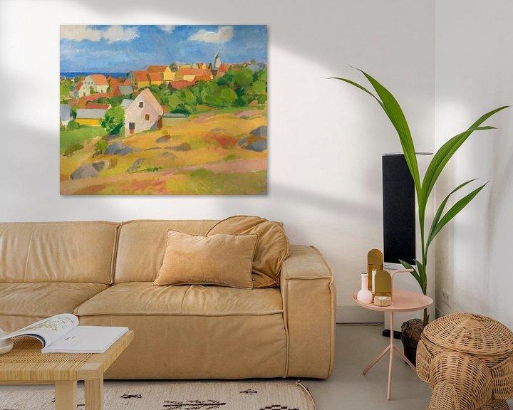 Beispiel: Karl Isakson - Blick über Gudhem