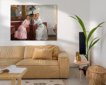 Michael Ancher - Reden im Westsaal