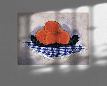 Oscar Bluemner-Orangen