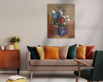 Odilon Redon-Blumenstrauss
