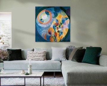 Robert Delaunay Kreisformen.Sonne und Mond