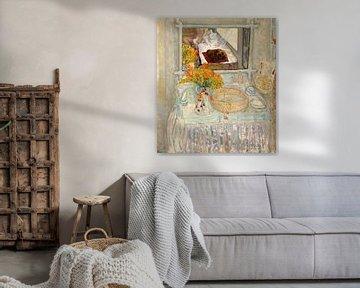 Pierre Bonnard Akttisch und Spiegel