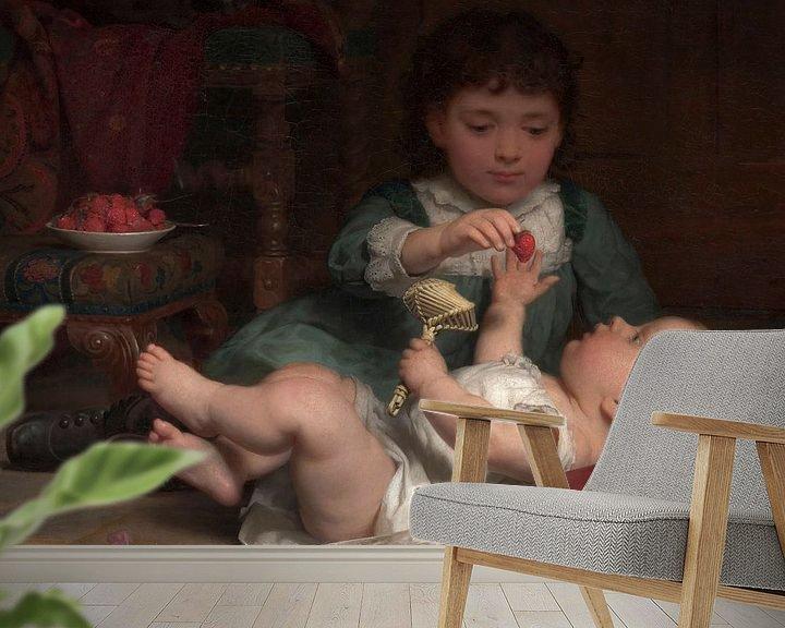 Sfeerimpressie behang: Seymour Joseph Guy-Verleiding