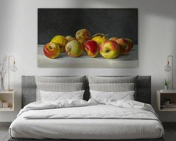 Süleyman Seyyid-Stilleben mit Äpfeln