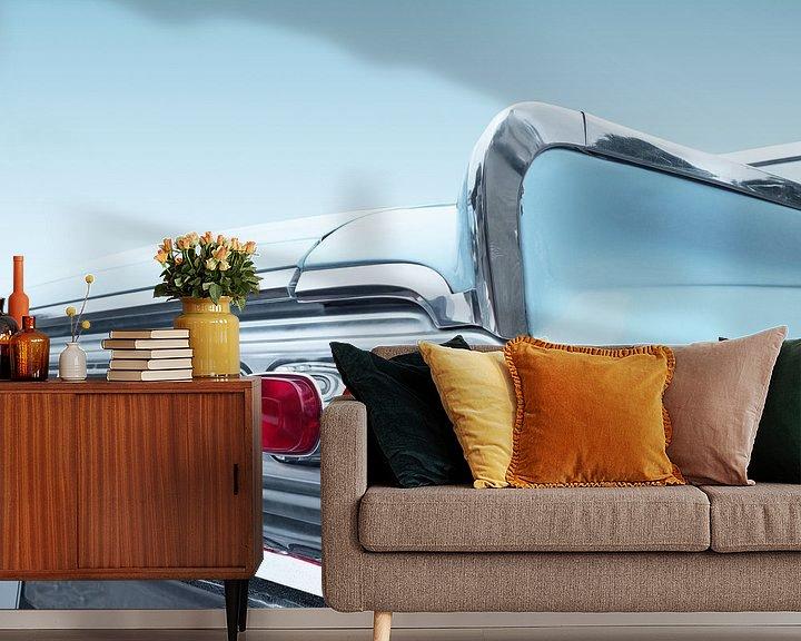 Sfeerimpressie behang: Amerikaanse klassieke auto 1964 park lane van Beate Gube