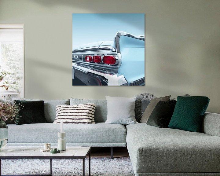 Sfeerimpressie: Amerikaanse klassieke auto 1964 park lane van Beate Gube